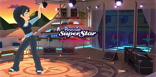 FØLG MED: I dansinga skal du følgje rørslene på skjermen. På songane kjem teksten over skjermen, omtrent som i karaoke.
