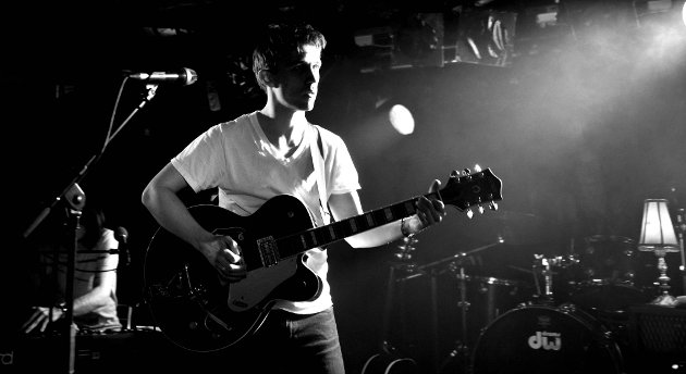 Sondre Lerche på Garage 9. april 2011.