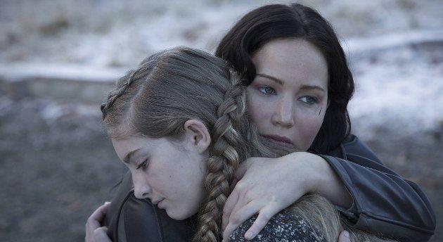 Jennifer Lawrence i rollen som generasjons-ikonet Katniss. En usedvanlig begavet skuespiller, allerede Oscar-vinner i en alder av 24 år.