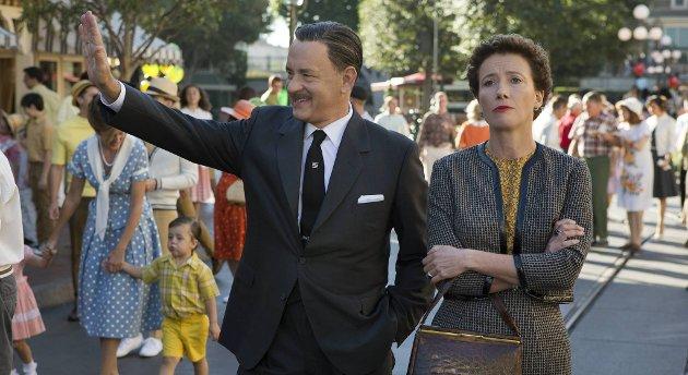 Emma Thompson og Tom Hanks løfter denne gjenfortellingen av et stykke Disney-historie.