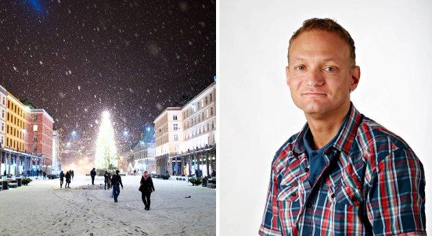 BAs journalist Eirik Langeland Fjeld savner et vinterlig Bergen.