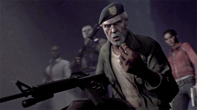 SPRUDLANDE PERSONGALLERI: Left 4 Dead tek til med ein opningsvideo, men det er spelbarheita som løftar det inn i zombiespel-himmelen.