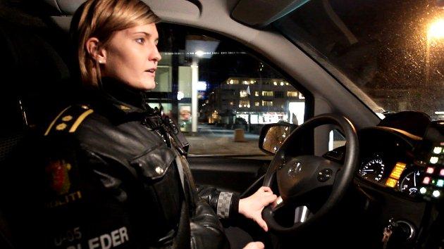 Politiet på nattpatrulje