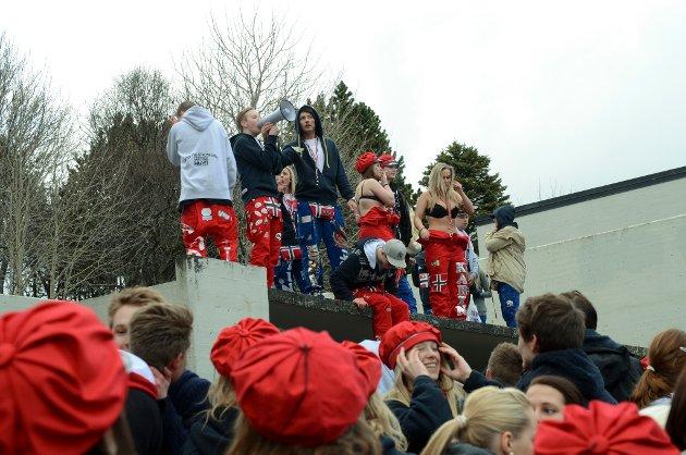 Russedåp 2012 i Bodø.