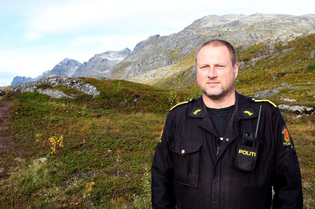 INNSATSLEDER I POLITIET: Morten Renland.