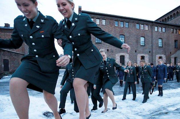 Kvinner har allerede en lang historie i Forsvaret.