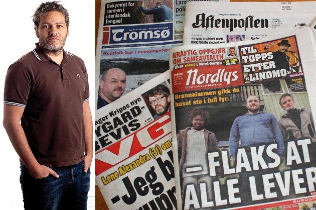 Kommentator Danny J. Pellicer er digitalredaktør i Nordlys.