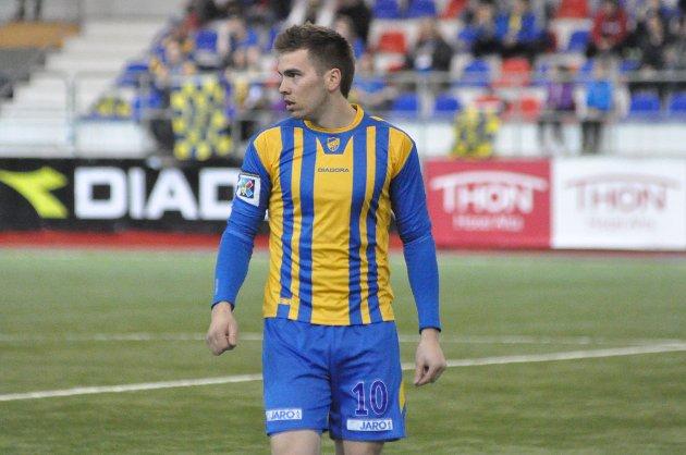 Svein Ove Thomassen startet kampen.