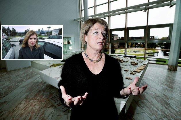 REKTOR: UiT-rektor Anne Husebekk forklarer hvorfor de nå skal kreve parkeringsavgift ved Universitetet i Tromsø.