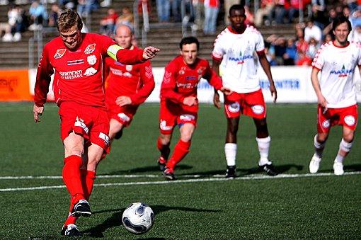BOM: Sigurd Dalen misser fra krittmerket i hjemmedebuten mot FK Tønsberg.