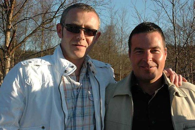 Tor Landaas og Kjartan Vassenden var tidlig ute med å bestille billetter til konserten med Mark Knopfler. - Vi er gamle Dire Straits-fans, sier de til BA.no (21.04.2008).