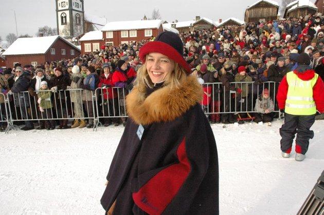 Reiselivssjef Linda Ramberg strålte under åpningen