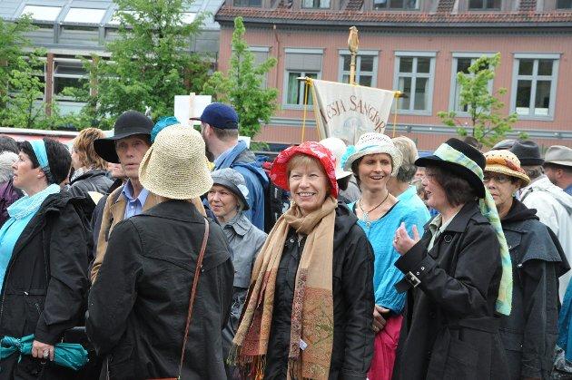 Korstevne i Lillehammer 18. juni 2011: Hattefine!