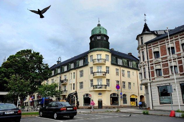 Vingården: Gjøviks kanskje mest stilrene og monumentale bygning i jugendstil. Neste år feirer den 100 år.