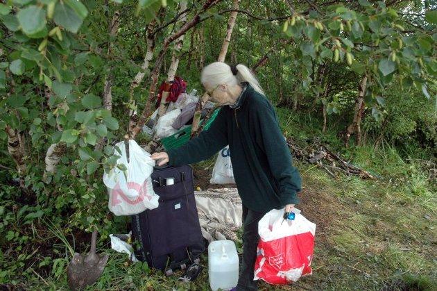 Shirley rydder for romfolket i Gråholten