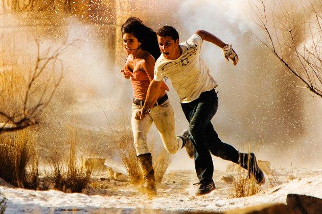 Megan Fox og Shia LaBeouf i Transformers.