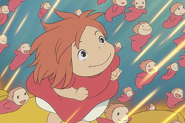 Ponyo er en gullfiskprinsesse som blir til menneske.