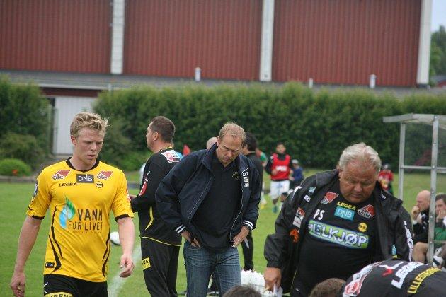 TAPTE: LSK tapte 1-0 for GAIS under lørdagens treningskamp. Se bildene fra matchen her! ALLE FOTO: PER MORTEN SØDAL