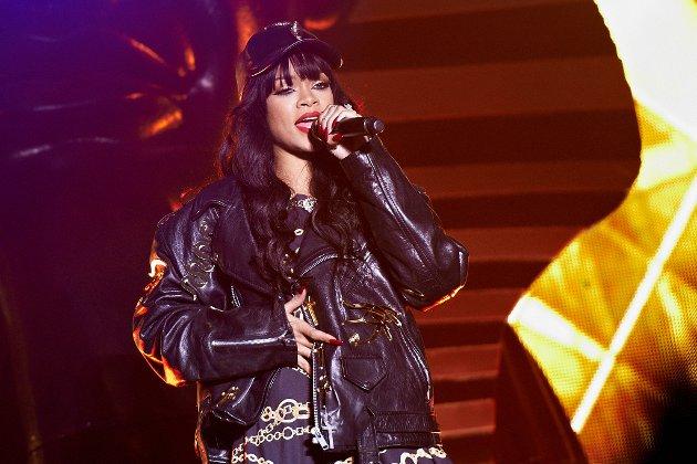 Oslo/Holmenkollen: Rihanna (24) på Kollen 2012. Foto: Dmitry K Valberg