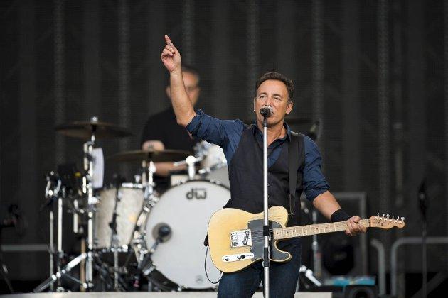 25-åringen fikk trolig ikke med seg stort av Springsteen-konserten, som ble belønnet med terningkast seks av BAs anmelder. (Arkivfoto)