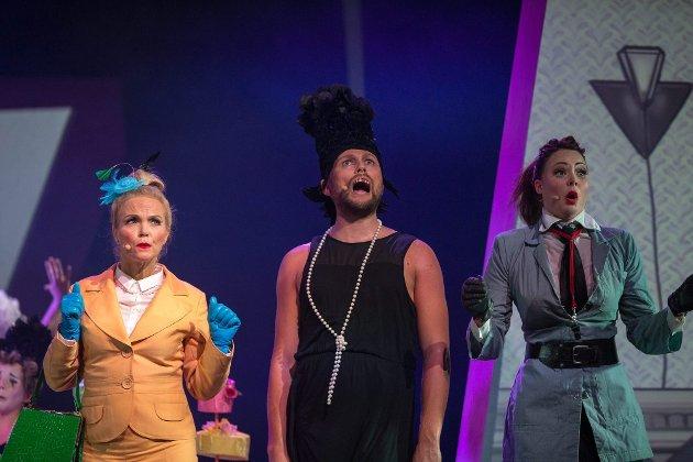 PIPPI LANGSTRØMpe: Evelina Harstad Moholt har hovedrollen på Christiania teater. ALLE FOTO: ROAR GRØNSTAD