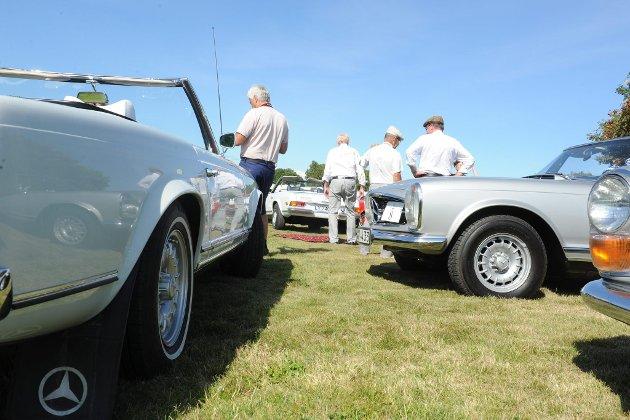 Skandinavisk Mercedestreff i Stavern (Foto: Bjørn Jakobsen)