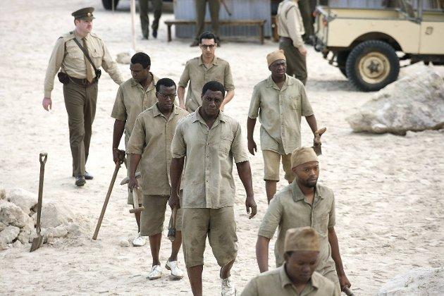 Idris Elba er en fordømt dyktig skuespiller som fanger opp mimikken og væremåten til Mandela på en overbevisende måte.