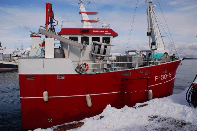 Ypperlig iFinnmark - «En sånn båt skal jeg i hvert fall ikke ha», sa han HN-95