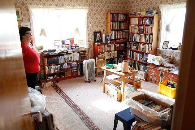 Dødsbuet etter onkelen til Randi Nyland inneheld over 2000 bøker.