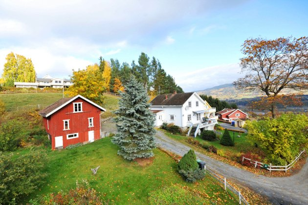Ringdalslinna 77: Er solgt for 2.100.000 kroner.Foto: Tunet advokat og eiendomsmegling