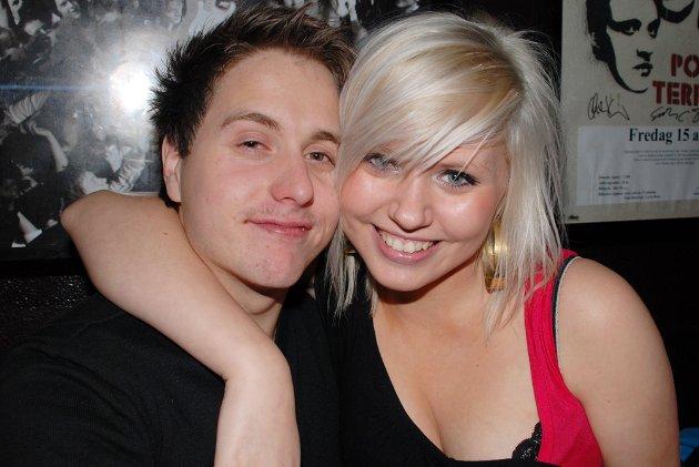 Paret Pål Risbakken og Stine Lise Johansen feiret seg selv på Rock.