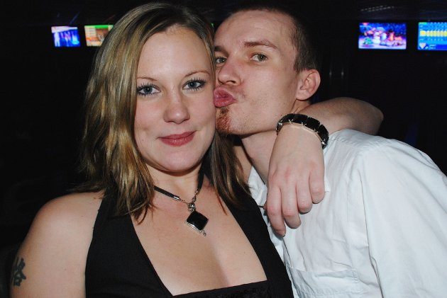 Jeanette Nordstrand og Are-André Høgheim tok turen til Royal Bowling.