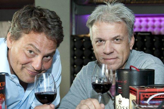 BAs vinskribenter Tom Are Trippestad og Per Randers Haukaas gir deg tips om de beste røde kartongvinene.