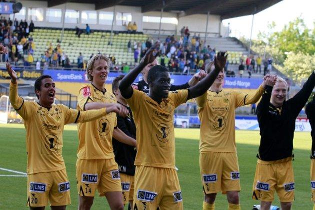 Fotball Glimt- Lillestrøm. Cup. Aspmyra Bodø.