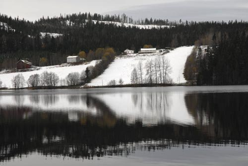 Skumlien ved Skumsjøen