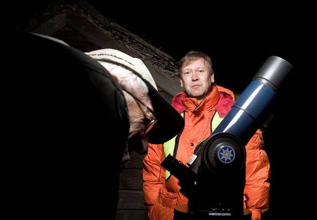 I år er astronomiåret. Bergen Astronomiforening arrangerer stjernekikke-kveld.