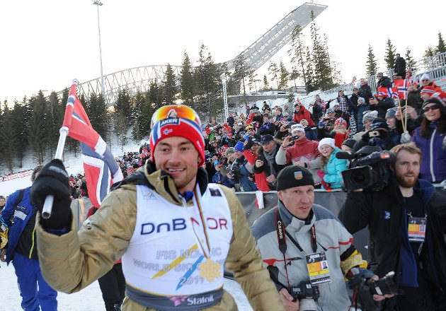 Petter Northug er sjefen i Holmenkollen.
