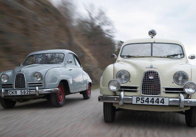Bli med på en reise i Saab-historien.