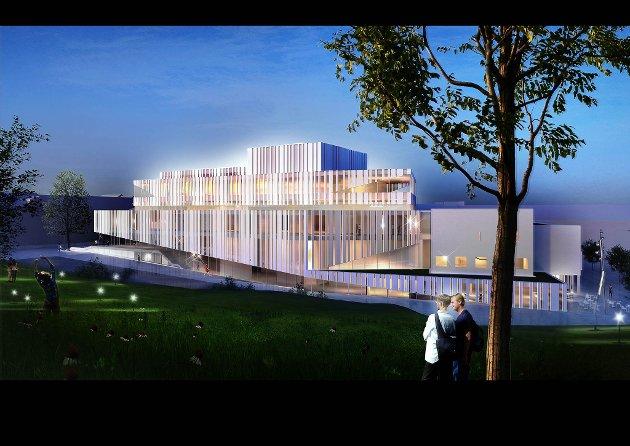 Slik blir det nye opera- og kulturhuset.