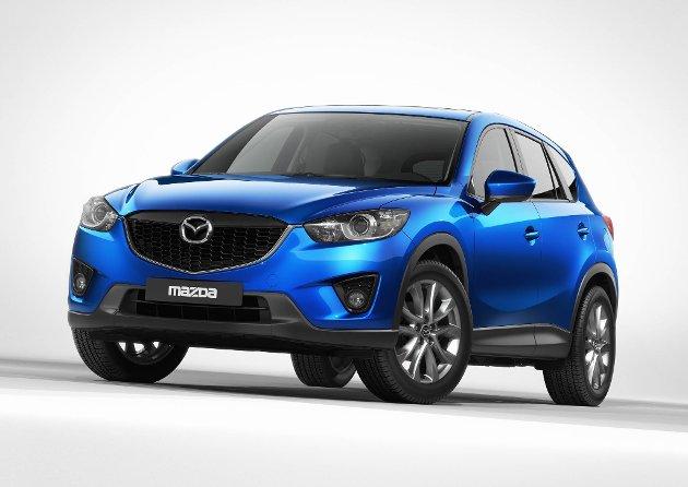 Mazda CX-5 får sin verdensdebut under messa i Frankfurt 13. september. Den nye modellen er designet etter temaet «KODO  Soul of Motion».