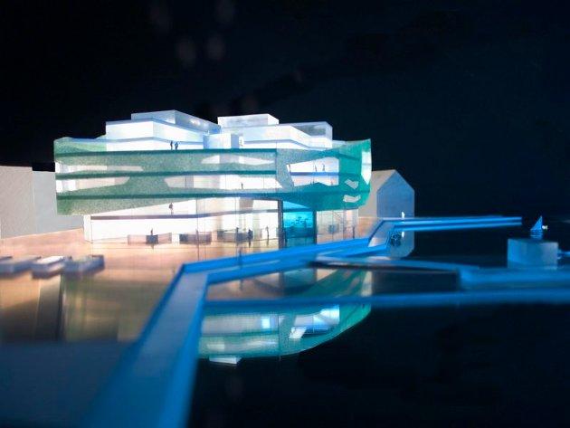 Her følger illustrasjoner av hvordan det nye bygget på kaia i Tromsø sentrum kan se ut. Alle bilder er fra 70 grader nord arkitektur AS.
