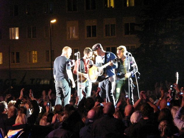Coldplay-konsert på Koengen 19. august 2009.