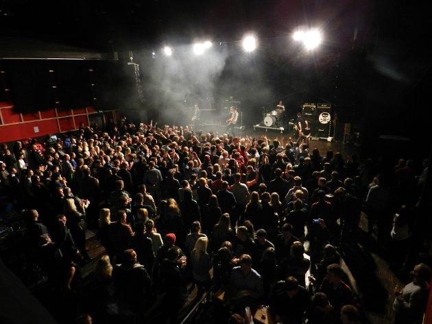 743a5a23 Oslo Ess under konserten i Brygga kultursal natt til 1. mai.