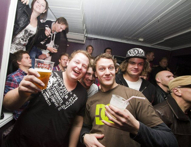 Skambankt på Rock51. (Foto: Tobias Nordli)