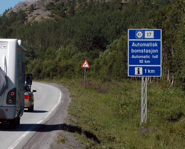 Test nyveien mellom Strømsnes og Røvika i Fauske.   Riksvei 80.