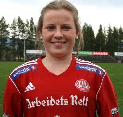 Therese Knutsen, Tufsingdalen, 22 år.