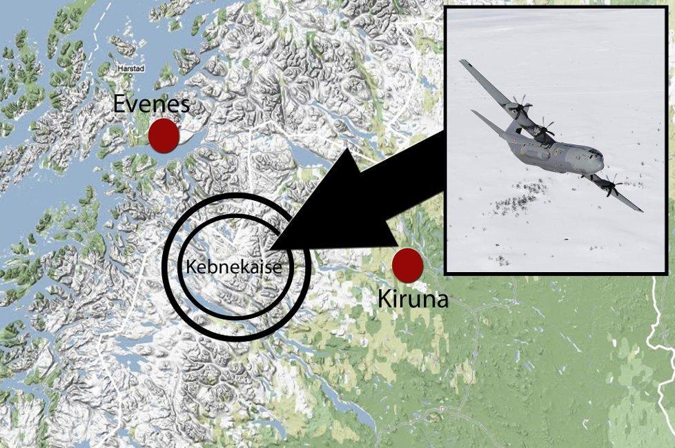 kart over kebnekaise Avisa Nordland   Svært dårlig vær i leteområdet kart over kebnekaise