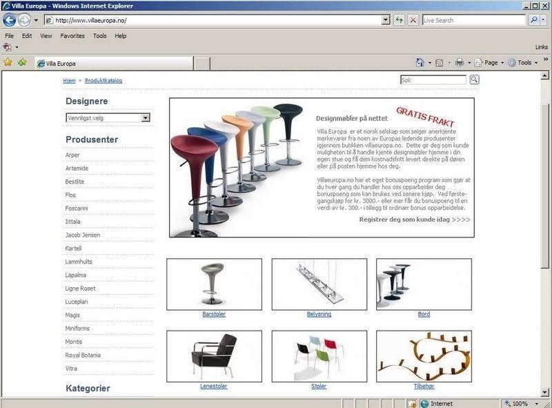 cd35eb439 Bolig og interiør - Vi handler stadig mer møbler på nett