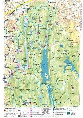 Nyheter Handmalte Kart Over Ostmarka
