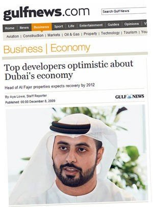 Dubai , Dubai World | Dubai i tåka fem år til